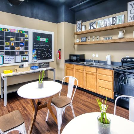 Clubhouse with kitchen to host special resident event