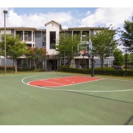 Basketball Court | Student Apartments Near UGA | The Connection at Athens