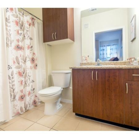 2 Bedroom Bathroom | Student Apartments Near UGA | The Connection at Athens
