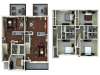 3 bedroom apartments tucson az