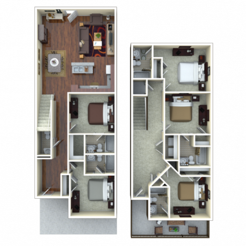 5 bedroom apartments in tucson