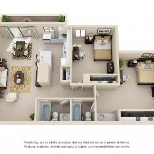 2 bedroom apartments in riverside ca