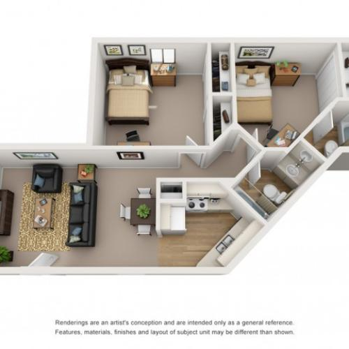 2 bedroom apartments in tucson az