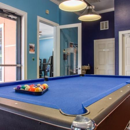 pool table brightside apartments