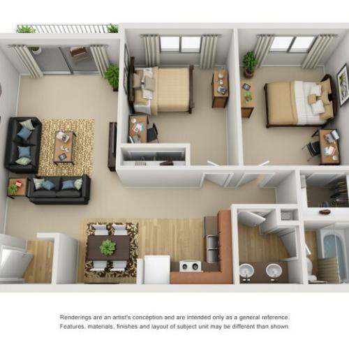 2 bedroom apartment tucson