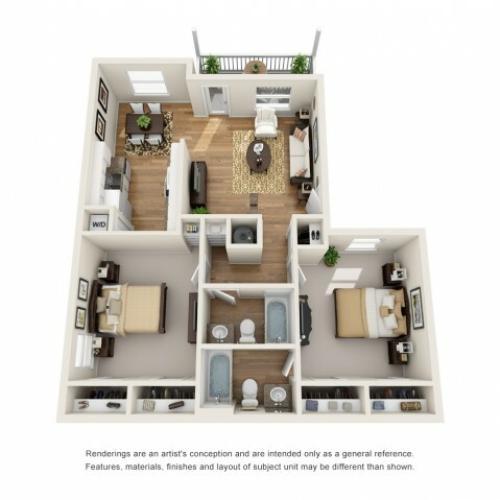 2 bedroom in college station laurel ridge