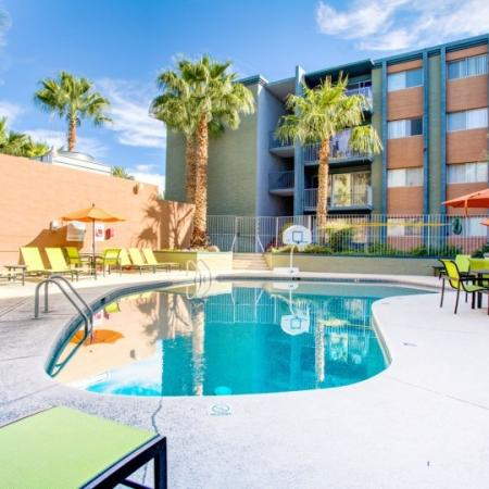 pool at student apartment in tucson az