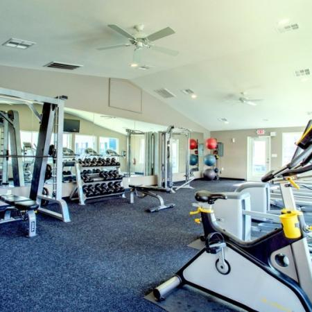 strength training college station apartment