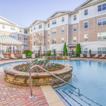 pool at condo near emory university