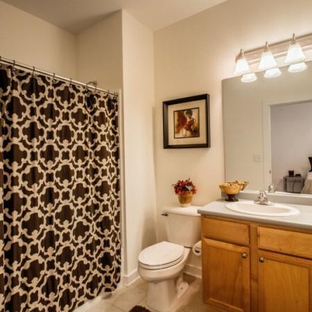 bathroom in briarcliff apts complex