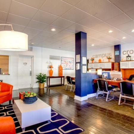 university heights apartment lobby in tucson