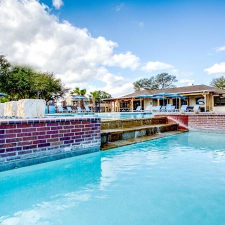 pool at marion pugh student housing