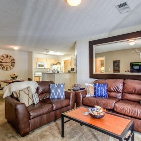 spacious living room campus crossings rams pointe