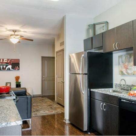 luxury apartment Kitchen area tallahassee fl