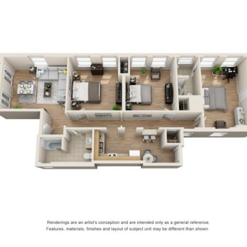 3 bedroom apartments for rent in richmond va
