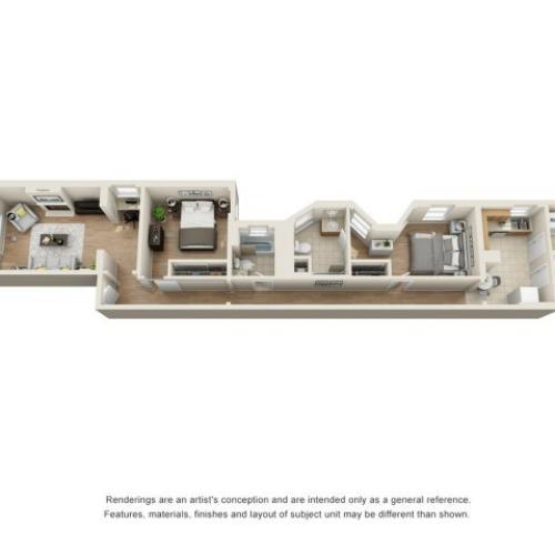 richmond 2 bedroom for rent