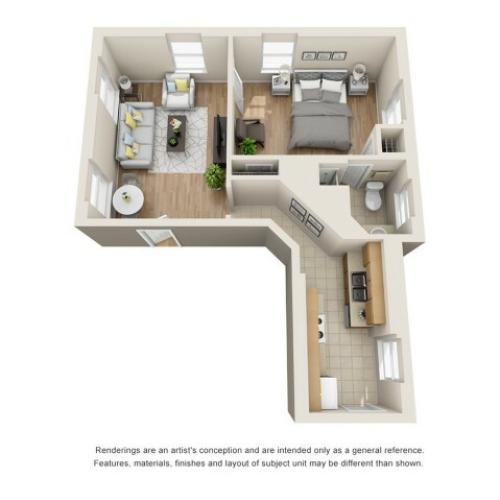 one bedroom apartments in richmond va
