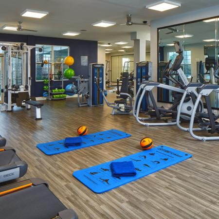 fitness center at gsu housing complex