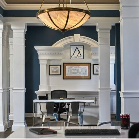 Lafayette luxury apartment clubhouse