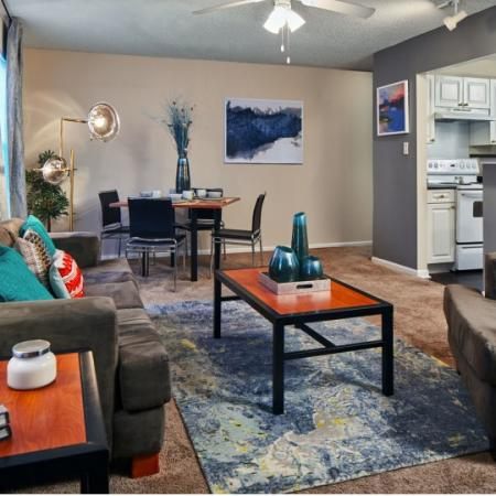 spacious room at lafayette apartment complex