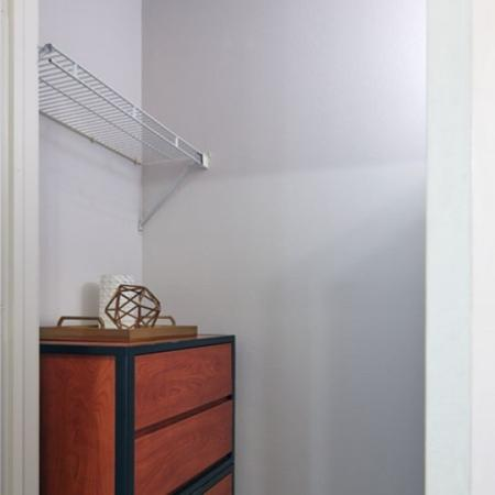 large closets in highland apartment