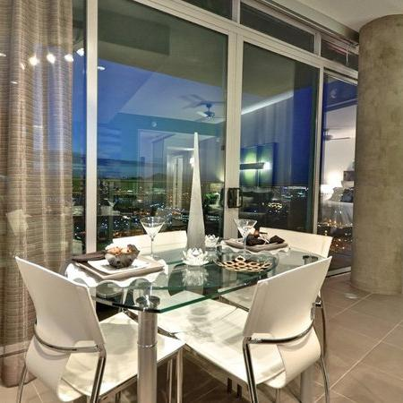 dining and balcony area west 6th
