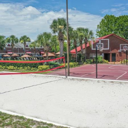 Alafaya Volleyball Court