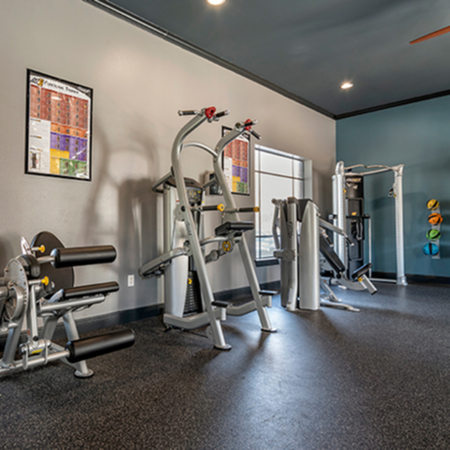 fitness center student apartments lsu