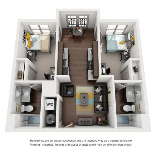 2 bedroom apartments in tallahassee