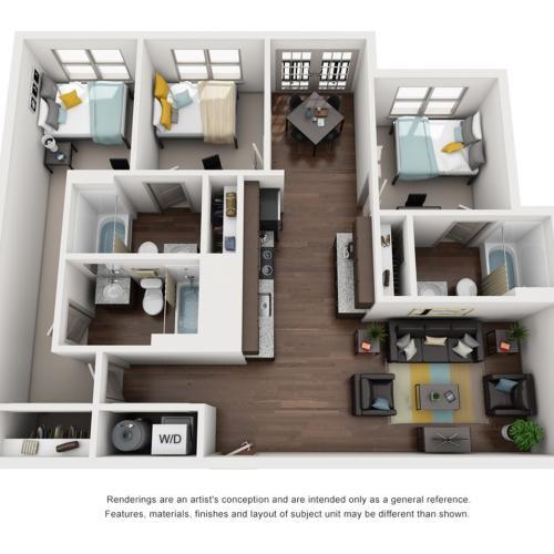 3 bedroom apartments tallahassee