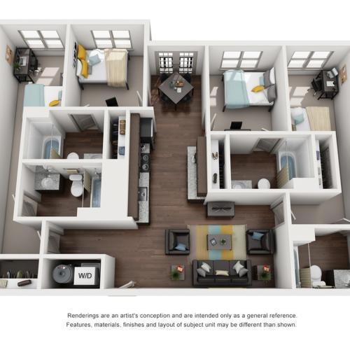 4 bedroom apartments tallahassee