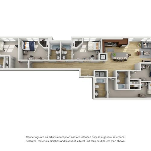 five bed apartment in knoxville tenn