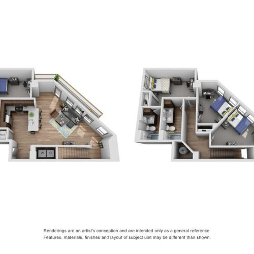 four bedroom townhouse in ann arbor