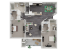 Two Bedroom Two Bathroom Apartments in Roseville