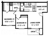 Two Bedroom Apartments For Rent at Montgomery Court Apartments in Spokane WA