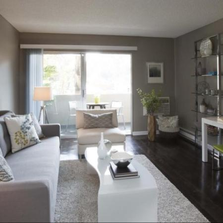 Apartments Near Ktown Los Angeles - The Chadwick Living Room
