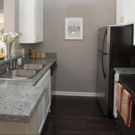 Luxury Ktown Apartments in Los Angeles - The Chadwick Kitchen