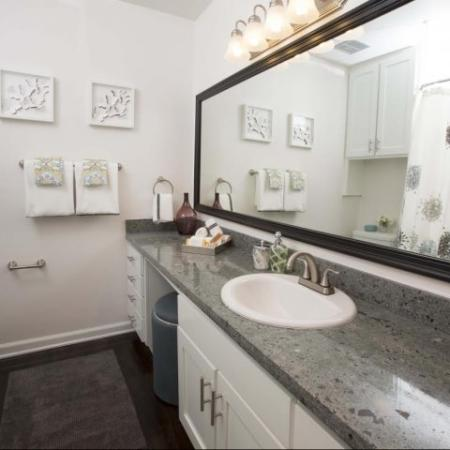 Luxury Ktown Apartments in Los Angeles - The Chadwick Bathroom