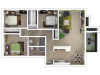 3x2 Sacramento Apartments for Rent l The Palms