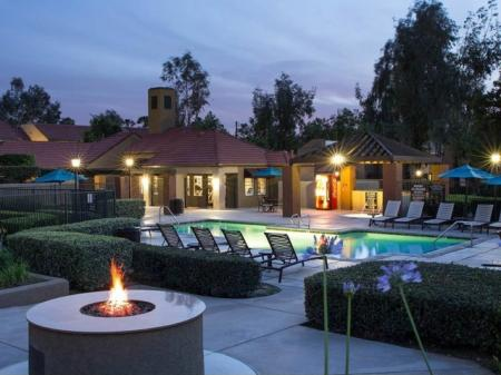 The Highlands at Grand Terrace Apartments l Refreshing Pool