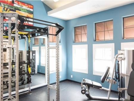 The Highlands at Grand Terrace Fitness Facility