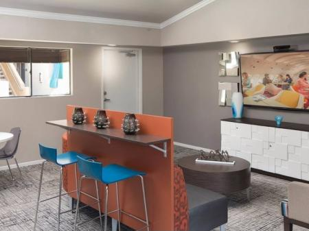 Relax in the Resident Clubhouse l Apartments in Grand Terrace