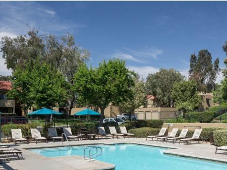 Apartments for rent in Grand Terrace, CA l Refreshing Pool