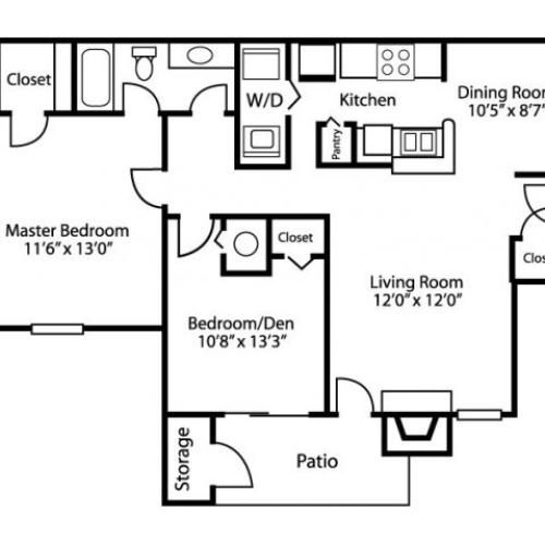 Income Based Apartments In Md: 1 Bed / 1 Bath Apartment In Gaithersburg MD