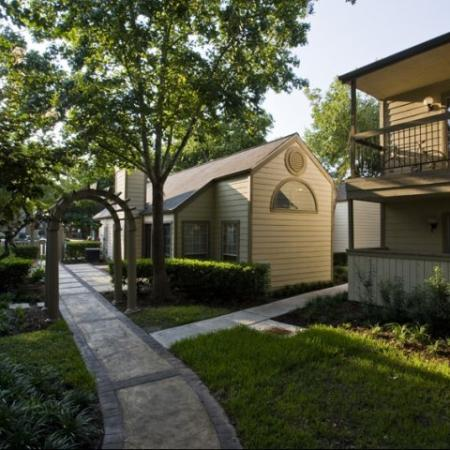 Silverado   Houston, TX Apartments For Rent   Outside Walkways