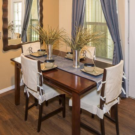 Dining Room   Rock Ridge Apartment Homes Arlington, TX