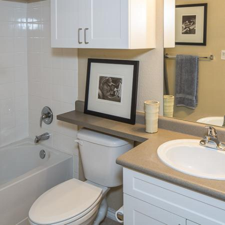 Bathroom   Rock Ridge Apartment Homes Arlington, TX