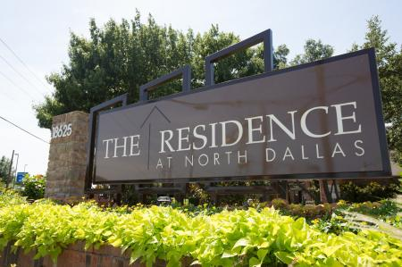 Entrance | The Residence at North Dallas | Apartments for Rent in Dallas, Tx