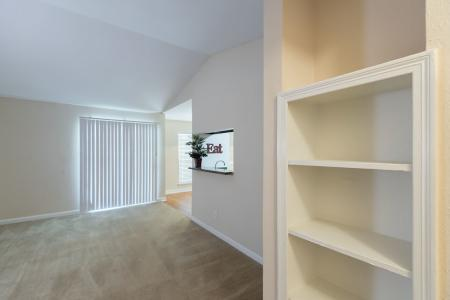 Silverado | Apartments For Rent in Houston, TX | Built-in Bookcase