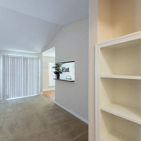 Silverado   Apartments For Rent in Houston, TX   Built-in Bookcase